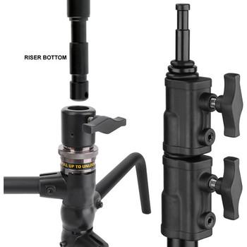 Rent Impact Turtle Base C-Stand Kit - 10.75' (Black)