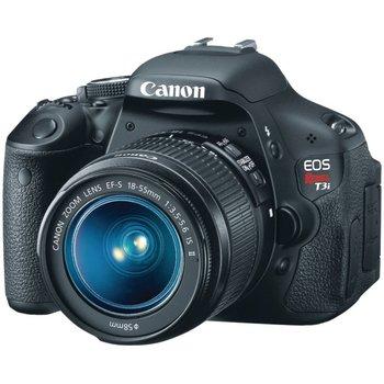 Rent Canon T3i DSLR Camera w/ Canon EFS 18-55 mm Lens