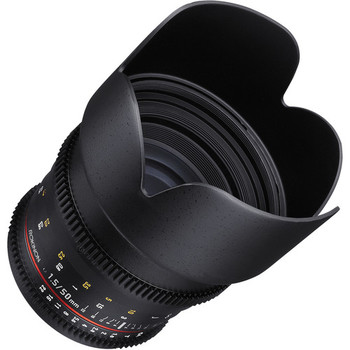 Rent Rokinon 50mm T1.5 AS UMC Cine DS Lens for Canon EF Mount