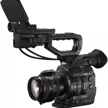 Rent Canon C300 Mark II EF 4K w/Lexar Memory Card Package