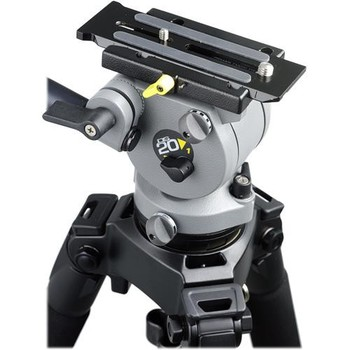 Rent Miller DS-10 DV Fluid Head & Solo Aluminum Tripod