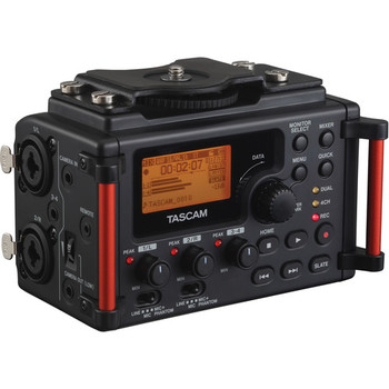 Rent Tascam DR-60DmkII 4-Channel Portable Recorder + Sony Mic