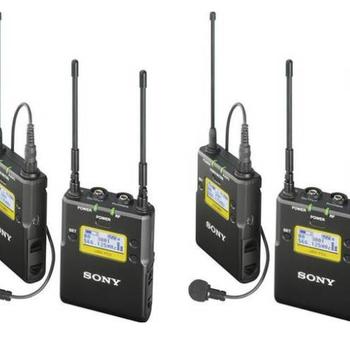 Rent 2x Sony UWPD11/42 Wireless Microphone System