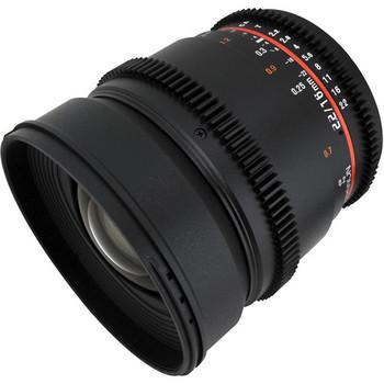 Rent Rokinon Cine 16mm T2.2 Canon EF Mount