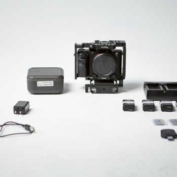 Rent Sony A7sii Package