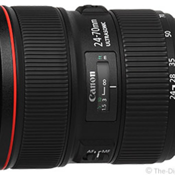 Rent Canon 24-70 II USM L with filters