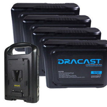 Rent Dracast 90Wh Compact Li-Ion Battery (V-Mount) Kit