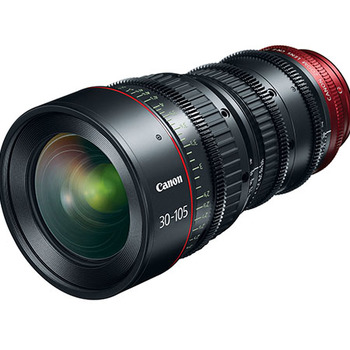Rent Canon 30-105 T2.8 4K EF Mount Cine Zoom For Canon