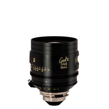 Rent COOKE 16MM T2 S4/I PL LENS