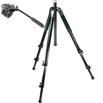 Rent Manfrotto 745MF3 tripod + Manfrotto 701hdv head