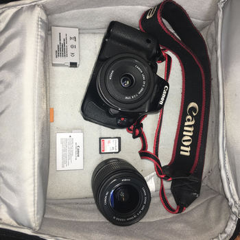 Rent Canon Rebel  T3i HD Video Kit 24mm 18-55mm