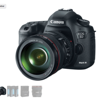 Rent Canon EOS 5D Mark III + Lens Package