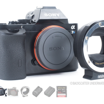 Rent Sony a7S package w/ Metabones Adapter (1 of 3)