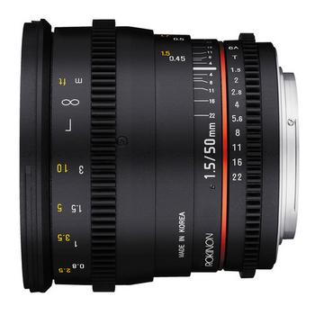 Rent Rokinon Cine Lens 50mm for Canon