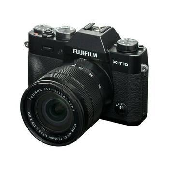 Rent FUJIFILM X-T10  mirrorless camera XC16-50mm lens