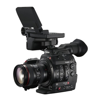 Rent C300 Mark II w/ Lenses (no tripod)