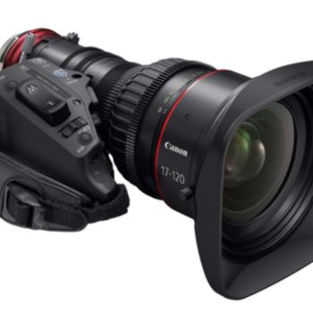 Rent Cine Servo 17-120mm EF (w/ hard case & accessories)