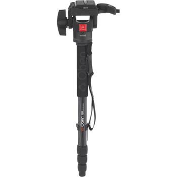 Rent Oben CTM-2400 4-Section Carbon Fiber Monopod w/ VH-R2 Tilt Monopod Head Kit