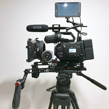 Rent URSA Mini Pro Deluxe Package 4.6k EF/PL