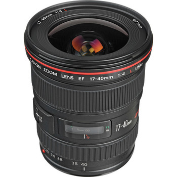 Rent Canon EF 17-40mm f/4L USM Lens with Canon LP 1319 soft pouch