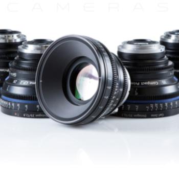 Rent Arri Compact Primes CP.2 - 5 Lens Set