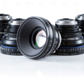Rent ZEISS  Compact Primes CP.2 - 5 Lens Set
