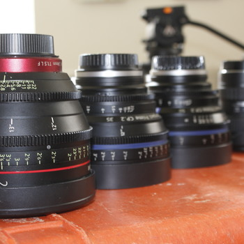 Rent EF Mount Cinema Lens Set