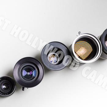 Rent Vintage Bolex Primes  C-Mount Lenses