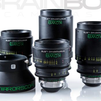 Rent KOWA Anamorphics - 4 Lens Set + Wide Angle Adpt. - RE-Housed