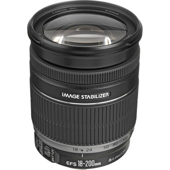 Rent Canon EF-S 18-200mm f/3.5-5.6 IS Auto Focus Lens