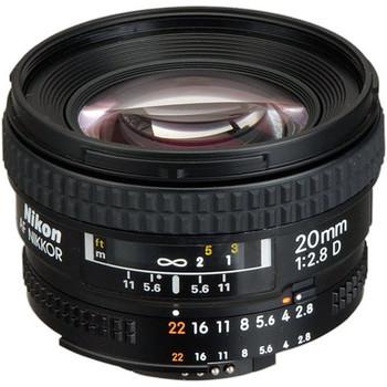 Rent Nikon AF NIKKOR 20mm f/2.8D