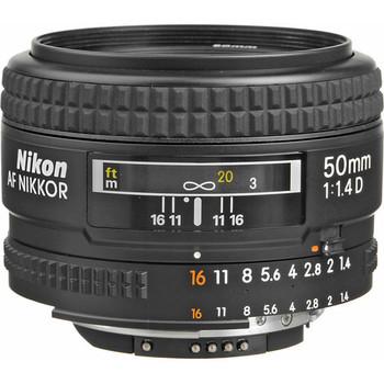 Rent Nikon AF NIKKOR 50mm f/1.4D Lens