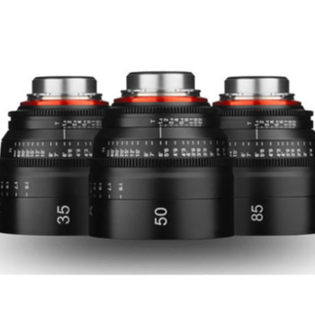 Rent Xeen Cinema Lens kit for commercials (EF) 35, 50, 85mm T1.5