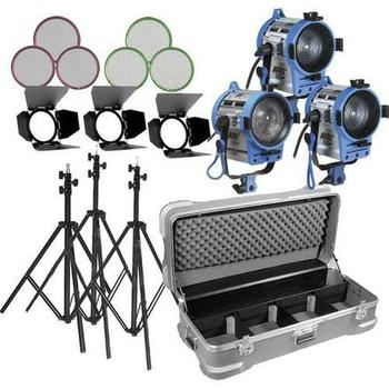 Rent Arri Fresnel 1000W 3 - Light Kit