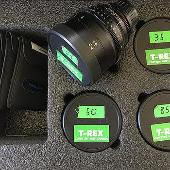Rent Rokinon Xeen 24mm, 35mm, 50mm, & 85mm T1.5 Lenses For PL Mount