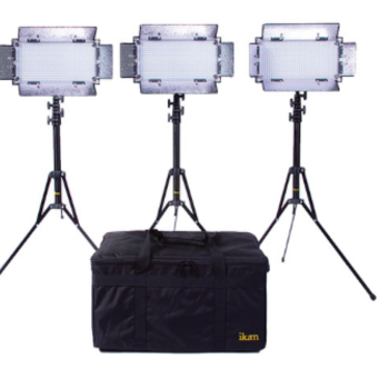 Rent Ikan ikan IB508-v2 Bi-Color LED 3-Light Studio Kit