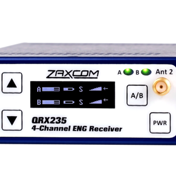 Rent 2 channel recording wireless package with ZaxNet