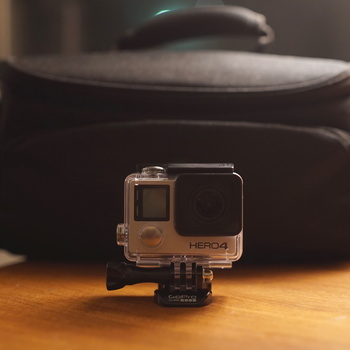 Rent GoPro Hero 4 Black with Accessories