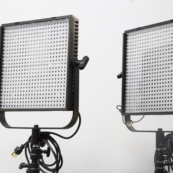 Rent Two 1x1 Bi-color Litepanels w/ stands