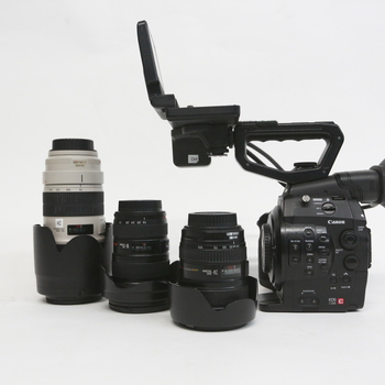 Rent Canon C300 Super Documentary Package