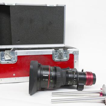 Rent Canon 17-120 Cine-Servo zoom