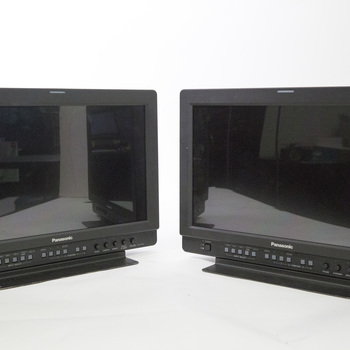 "Rent 2x Panasonic 17"" Monitors"