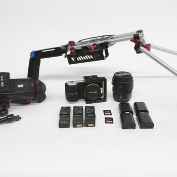 Rent Blackmagic Pocket Cinema Camera handheld package 1