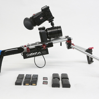 Rent Blackmagic Pocket Cinema Camera handheld package 2