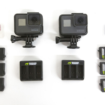 Rent GoPro Hero 5 Black Double Package