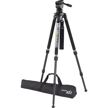 Rent MIller Tripod Carbon fiber Legs 10 LB Fluid head