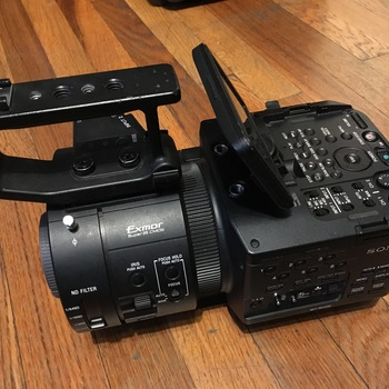 Rent Sony FS700 with 4k sensor unlocked