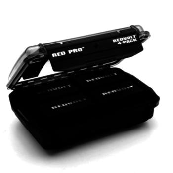 Rent RED EPIC DSMC Side Handle + 4-PACK Redvolt Batteries