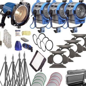 Rent Arri kits 1x750, 1x300, 2x650
