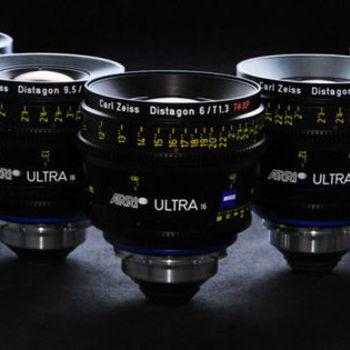 Rent ARRI Zeiss Ultra Prime 5 Lens Set
